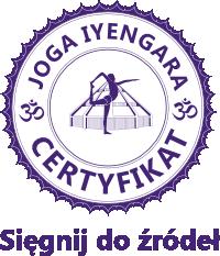 Certyfikowana nauczycielka jogi iyengara